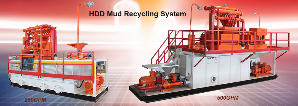 Brightway HDD Mud Recycling System