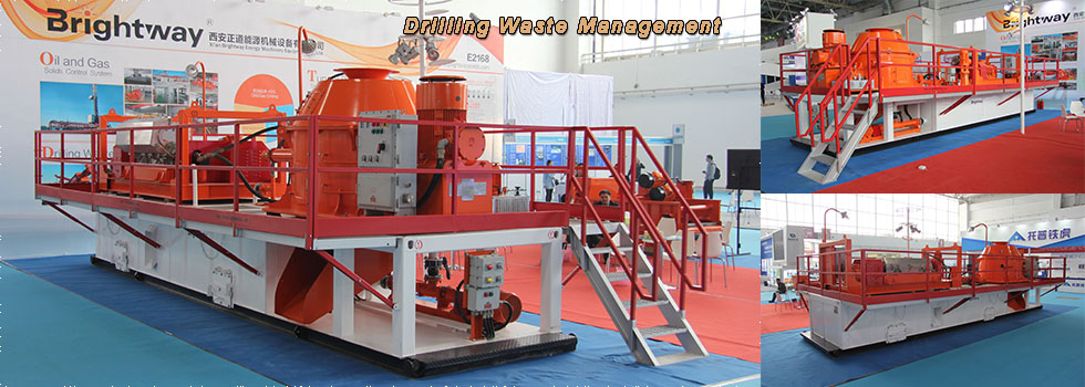 Brightway Drilling Waste management in CIPPE 2016